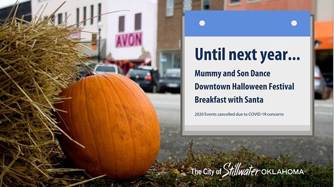2020 Halloween Stillwater Ok 2020 Mummy and Son Dance, Halloween Festival among City events